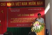 Khởi công xây sân bay Phan Thiết trong tháng 1