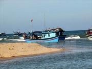 Nhiều cửa biển ở Phú Yên tiếp tục bị bồi lấp
