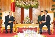 Thủ tướng Nguyễn Tấn Dũng tiếp Bộ trưởng Quốc phòng Thái Lan