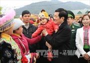 Chủ tịch nước thăm, làm việc tại Sơn La