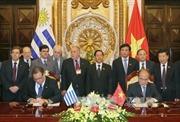 Chủ tịch Quốc hội hội đàm với Chủ tịch Hạ viện Uruguay