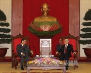 Tổng Bí thư Nguyễn Phú Trọng tiếp Phó Thủ tướng Lào