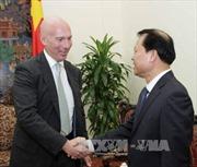 Phó Thủ tướng Vũ Văn Ninh tiếp Thứ trưởng Thương mại Mỹ