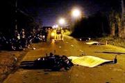Xe máy đấu đầu, 2 người chết