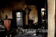 Cháy nổ tại đại lý gas, dân phố hoảng loạn