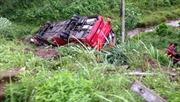 Lai Châu: Xe tải lao vực sâu, 4 người tử vong