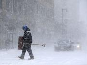 Đông Bắc Mỹ hứng trận bão tuyết thứ 2 trong tuần