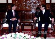 Chủ tịch nước tiếp Chủ tịch Hội hữu nghị Nhật-Việt thành phố Sakai