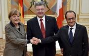 Cuộc gặp Đức-Pháp-Ukraine vi phạm qui định lễ tân