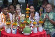 Lễ cưới của đồng bào Khmer
