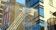 TPHCM: Đang cháy lớn tại tiệm massage cao tầng