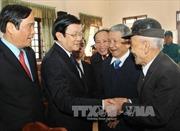 Chủ tịch nước thăm và chúc Tết tại tỉnh Hà Tĩnh