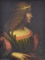 Italy thu hồi tranh bị đánh cắp của Leonardo da Vinci