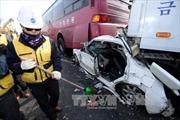 Hai người Việt bị thương do đâm xe liên hoàn tại Hàn Quốc