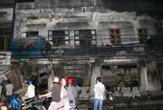 Cháy rụi cửa hàng và kho kim khí điện máy