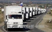 Nga lập đoàn xe cứu trợ thứ 14 cho Donbass