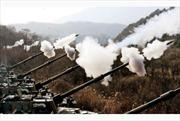 Lãnh đạo Triều Tiên thị sát tập trận tấn công đảo