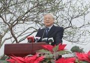 Tổng Bí thư Nguyễn Phú Trọng tham dự Tết trồng cây