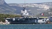 Pháp điều tàu sân bay tới vùng Vịnh chống IS