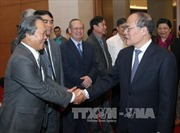 Chủ tịch Quốc hội thăm, động viên cán bộ, công chức đầu Xuân