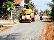 Bê tông hóa đường  giao thông nông thôn