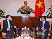 Phó Thủ tướng Phạm Bình Minh tiếp Quốc Vụ khanh Bộ Ngoại giao Anh