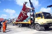 Indonesia vớt mảnh vỡ lớn cuối cùng của QZ8501
