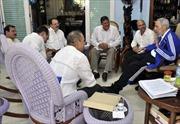 Lãnh tụ Fidel Castro gặp gỡ 5 anh hùng Cuba