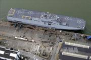 Pháp thử nghiệm tàu Mistral thứ 2 đóng cho Nga