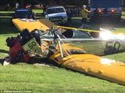 Diễn viên Harrison Ford bị tai nạn máy bay
