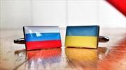 Ukraine đơn phương dựng cột mốc trên biên giới với Nga