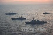 3 tàu chiến Mỹ tới Hàn Quốc tập trận 'Rồng sinh đôi'