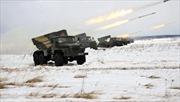 Nga tập trận thực địa pháo thủ quy mô lớn