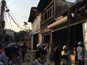 Điện Biên: Kịp thời dập tắt đám cháy ở khu đông dân cư