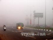 Bắc Bộ đêm và sáng sớm sương mù, mưa phùn nhẹ