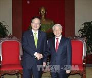 Tổng Bí thư Nguyễn Phú Trọng tiếp Chủ tịch Quốc hội Hàn Quốc Chung Ui-wha