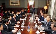 Thủ tướng Nguyễn Tấn Dũng hội đàm với Thủ tướng New Zealand