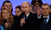 Tổng thống Putin: Nga sẽ vượt qua mọi thách thức hậu Crimea