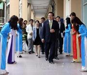 Chủ tịch Quốc hội Hàn Quốc kết thúc chuyến thăm Việt Nam