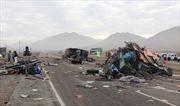 Tai nạn thảm khốc trên đường cao tốc ở Peru