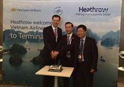Vietnam Airlines khai trương đường bay thẳng đến sân bay Heathrow