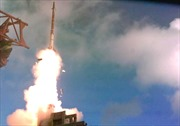 Xem hệ thống đánh chặn 'David's Sling' của Israel hạ rocket
