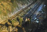 Tàu hỏa kéo lê người đàn ông hơn 200m