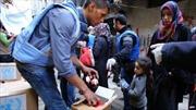 IS bị đánh bật khỏi trại tị nạn Yarmuk