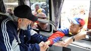 Lãnh tụ Fidel Castro xuất hiện trước công chúng lần đầu tiên sau 14 tháng