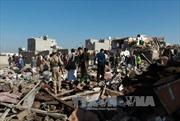 Liên quân Arab không kích ác liệt các mục tiêu Houthi