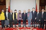 Tổng Bí thư gặp mặt đại diện Hội Hữu nghị đối ngoại nhân dân Trung Quốc
