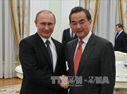Nga-Trung đề cao quan hệ đối tác chiến lược
