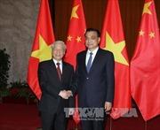 Tổng Bí thư Nguyễn Phú Trọng hội kiến Thủ tướng Trung Quốc