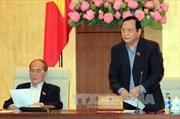 Bế mạc Phiên họp thứ 37 của Ủy ban Thường vụ Quốc hội khóa XIII